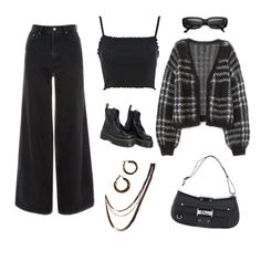Teen Fashion Outfits, Grunge Outfits, Fasion, Aesthetic Grunge Outfit, Festival Looks, Fashion Killa, Polyvore Outfits, Everyday Outfits, Stage