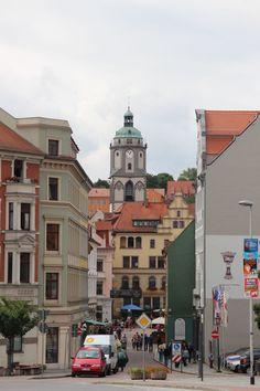 zur Altstadt mit #Frauenkirche #meißen