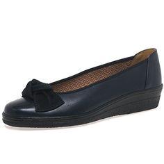 1901351019d Lesley Womens Casual Ballet Wedge Heel Shoes 4 Ocean Gabor…
