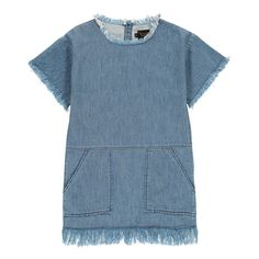 Bubble Fringe Dress Finger in the nose Teen Children- A large selection of Fashion on Smallable, the Family Concept Store - More than 600 brands.