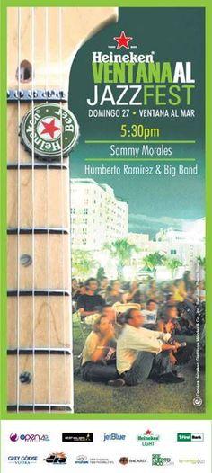 Ventana al Jazz Fest: Octubre 2013 #sondeaquipr #ventanaaljazzfest #jazz #ventanaalmar #condado
