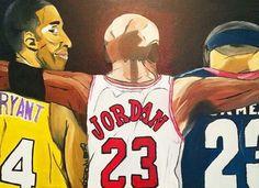Kobe Bryant Lebron James, Michael Johnson, Shaquille O'neal, Magic Johnson, Larry Bird, Kevin Durant, Ronald Mcdonald, Basketball, Fictional Characters
