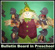 Scarecrows in Kindergarten and Preschool