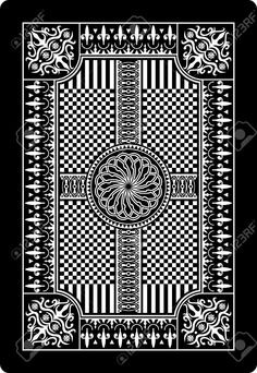Playing Card Back Side 62x90 Mm Royalty Free Cliparts, Vectors, And Stock Illustration. Image 13612246.