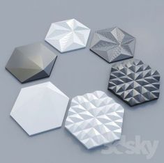 44 Trendy Bath Room Tiles Geometric Black And White Pattern Concrete, Concrete Design, Tile Design, Bath Design, Pattern Design, 3d Wall Tiles, Room Tiles, Decorative Wall Panels, 3d Wall Panels