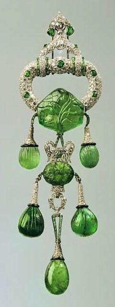 Cartier brooch for Marjorie Merriweather Post #jewelry