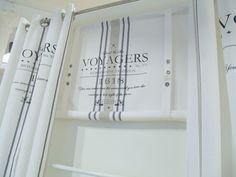 Badezimmer LillaBelle OCEAN*Gardine Raffrollo 160 x100 Weiß Shabby Vintage Landhaus*Curtain in Möbel & Wohnen, Rollos, Gardinen & Vorhänge, Gardinen & Vorhänge | eBay!