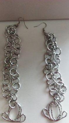 XLong Silver Earring---TRJ