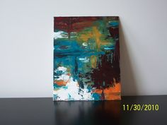 Acrylic Paint on Canvas Panel.  SOLD.