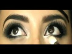 This Kim Kardashian inspired, bridal look, is an excellent step by step make up tutorial.