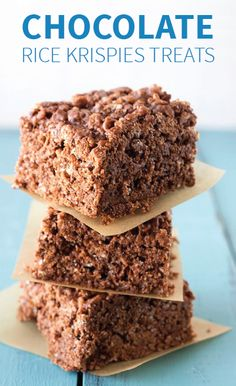 Sometimes simplicity is best, like this scrumptious Chocolate Rice Krispies Treats® recipe. Sneak a tasty surprise into your kiddo's lunch box, or have a plate ready for their after-school snack.