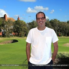 See Paul at the British Open sporting his new Face a Face glasses.  Modern Eye Candy fashion on the old-fashioned links!  Be who you want to be at Eye Candy Optical! www.eye-candy-optical.com
