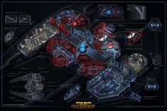 Star Wars the Old Republic- SWTOR concept Art by Ryan Denning   Sith Fury Class Spaceship