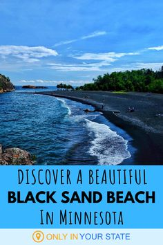 This beautiful, secluded black sand beach makes for a perfect summer day trip. Against a backdrop of red cliffs and a blue sky, this place is a photographer's paradise! It's also a great picnic spot for families or a unique date. Places In Usa, Places To Travel, Places To See, Travel Destinations, Rv Travel, Vacation Trips, Vacation Spots, Vacation Ideas, Italy Vacation