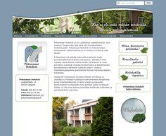 Projektina: Kotisivujen ulkoasunsuunnittelu ja - toteutus.  http://www.pirkanmaanhoitokoti.fi/