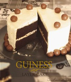 GUINNESS LAYER CAKE - TheSweetestThingbyLaura - http://thesweetestthingbylaura.blogspot.com.es/