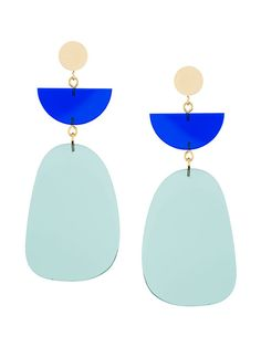 Shop Isabel Marant tiered earrings.