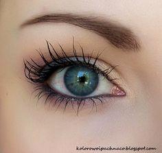 "Mineral eyeshadow Annabelle Minerals ""Vanilla"" and Neauty Minerals ""Bunch of Lilac"", ""Like a Raven"".. Primer & mascara Revitalash. Catrice Eyebrow Set. Eyeshadow Base: Grashka. Etre Belle Waterproof Eyeliner Pencil black."