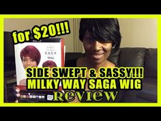 Saga Remy Wig- Side-Swept Bob Review - only $20!!! :D
