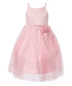 Look at this Pink Tulle Princess Dress - Toddler