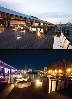 Deck on Sydney Harbour