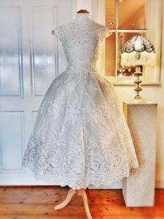Joanne Flemming Design tea length gown