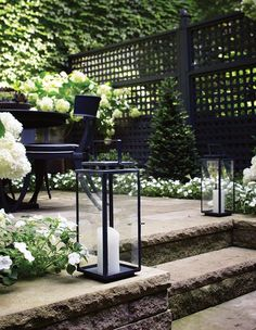 If our Pinterest boards are any indication, May was the month of getting inspiration for your outdoor space. From patios to porches, backyards, gardens and more, al fresco design ideas reigned supreme — with kitchen organizing ideas sprinkled in, too. Click through to see the images that made the cut. #outdoorideaslandscaping