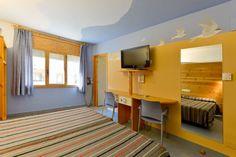 Habitaciones del #Hotel Les Brases #Pirineos #Cataluña