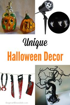 enough with boring Halloween decor -- here are some unique ideas! #Halloween #fall #decor #DIY