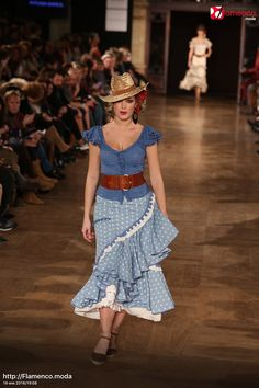Pitusa Gasul – We Love Flamenco 2016 Anniversary Dress, Choli Dress, Peter Pan Collars, Spanish Fashion, Tiered Skirts, Ruffles, Nice Dresses, Bell Sleeves, Style Inspiration