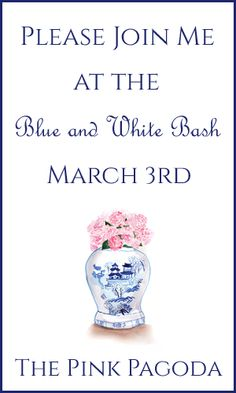The Pink Pagoda: The Blue and White Bash + BOHO Prep Board