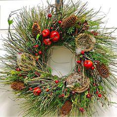 christmas wearths pic   Christmas Holiday Wreath - Old World Christmas Wreath