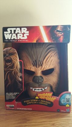 Hasbro Star Wars The Force Awakens Chewbacca Electronic Talking Mask IN STOCK!! US $68.99 New in Collectibles, Science Fiction & Horror, Star Wars