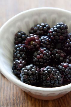 A soft Blackberry Buttermilk Cake recipe with lemon extract and super sweet blackberries