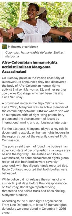 holy fuck.. no one ever talks about whats happening in south america and it bugs me