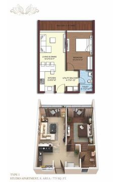 http://www.sikkakimayagreen.com/floor-plans-of-sikka-kimaya-green  Type1