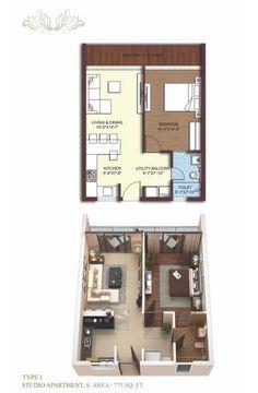 http://www.sikkakimayagreen.com/floor-plans-of-sikka-kimaya-green  Type1