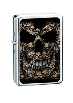 Lighters | Zippo Cigarette Lighters | Skull Cigarette Lighters