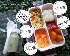 assalamualaikum, selamat pagii.. nyiapin bekal apa hari ini? kalau Arin bekalny Recipe Box, Bento, Cravings, Foodies, Lunch Box, Salt, Asian, Cooking, Recipes