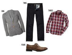 GentlemanStanding Style Board featuring #GantRugger, #CitizensofHumanity, #JCrew, #Zara