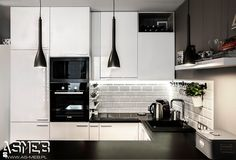Kuchnia styl Skandynawski - zdjęcie od AS-MEB producent kuchni i mebli - Kuchnia - Styl Skandynawski - AS-MEB producent kuchni i mebli
