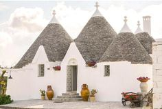 trulli gardens home, Puglia - Italy. Places In Europe, Places Around The World, Places To Go, Vacation Homes For Rent, Vacation Home Rentals, Affordable Vacations, Romantic Vacations, Italy Vacation, Vacation Spots