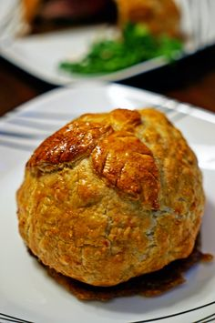 Individual Beef Wellingtons with Caramelized Onions and Bleu Cheese Rosemary Compound Butter11