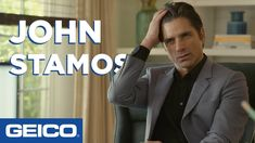 John Stamos Knits A Scarf - GEICO Insurance - YouTube John Stamos, Funny Commercials, How To Make Scarf, Goddess Braids, It Cast, Entertaining, Knits, Knitting, Youtube