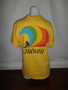 70s 80s Vintage HAWAII t shirt by ATELIERVINTAGESHOP on Etsy