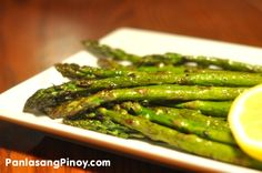 This Grilled Asparagus Recipe is Healthy and Tasty. It is a good side dish to any meal. Learn how to grill your way to a delicious meal.