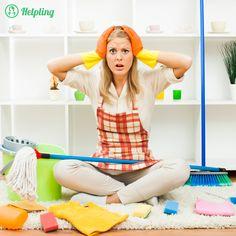 Cómo mantener la casa limpia sin esfuerzo – Helping (+ código para una hora de limpieza gratis)
