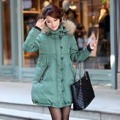 2016 New Winter Large Fur Collar Thick Duck Down Plus Size Slim Parka Women's Long Coat Lady's Cold Frost Resistance Warm Jacket Down Winter Coats, Long Down Coat, Down Parka Women, Langer Mantel, Womens Parka, Raincoats For Women, Winter Jackets Women, Fur Collars, Clothes For Women