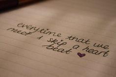 heartbeat<3