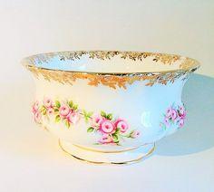 Royal Albert Dimity Rose sugar bowl
